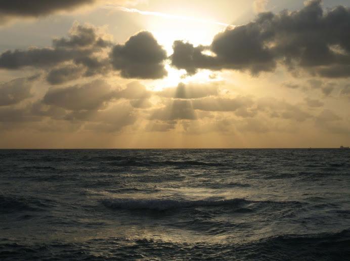 Sunrise on the Florida East Coast