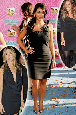 Black Pencil Dress on Posted On 09 10 2008 8 39 Am By Kim Kardashian