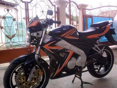 Modif Motor Yamaha Vixion 2014