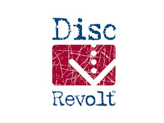 Disc Revolt Logo Design
