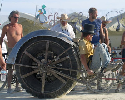 Riot Wheel - Burly Motorized Single BIg Wheel
