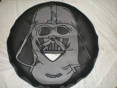 Darth Vader Tire Cover