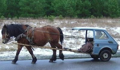 Half Car Gets more horse power with reduced emissions