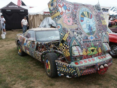 Painted Corvette Art Car by Buckeye-Front