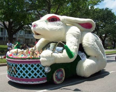 Rex Rabbit Art Car