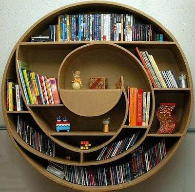 Cardboard Book Case