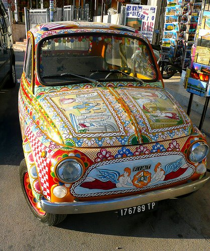 Fantastic Italian Art Car - Fiat 500
