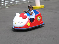 Hello Kitty Bumper Car