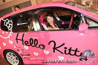 Hello Kitty Bridal Car