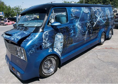 Star Wars Custom Art Van