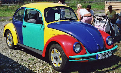 VW Bug Harlequin Art Car Wannabe #1