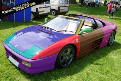 Ferrari Harlequin Art Car Wannabe #3