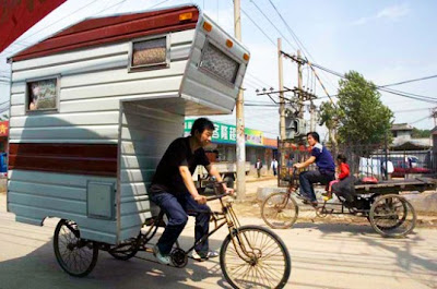 Camper Bike &#8211; Pedal-Powered RV For One
