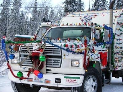 Miss Santa's Garbage Truck