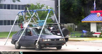 Swing Set Car Mod  - Unsafe at Any Speed