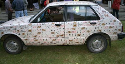 The Card Car aka JoeCar From New Zealand