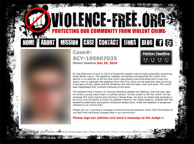 Violence-Free.org Web Design by Envisionary Design