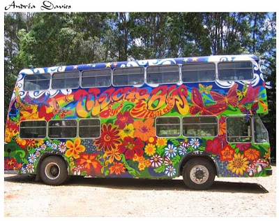 Magic Bus, Byron Bay by Andrea Davies