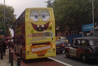 SpongeBob Bus Art Car