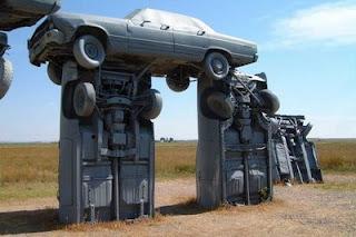 Car Henge Art Cars
