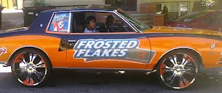 Frosted Flakes Donk Art Car