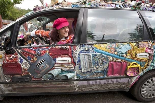 Kelly Lyles Excessories Odd-Yssey Art Car