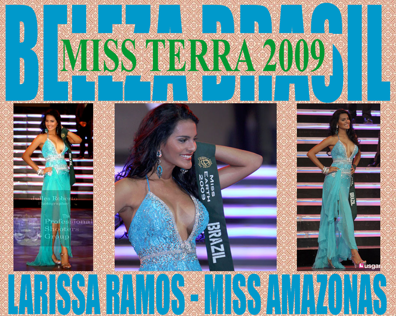 ☻♠☼ Galeria de Larissa Ramos, Miss Earth 2009.☻♠☼ - Página 5 Vencedora+Miss+terra