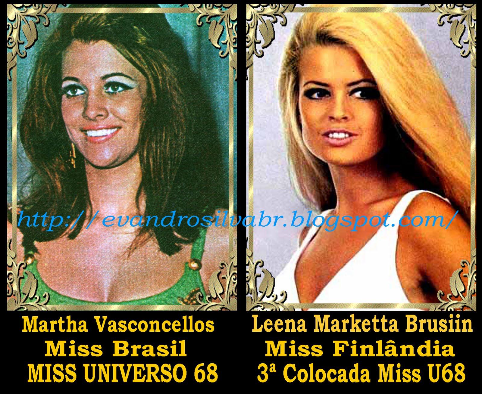 ☽ ✮ ✯ ✰ ☆ ☁ Galeria de Martha Vasconcelos, Miss Universe 1968.☽ ✮ ✯ ✰ ☆ ☁ - Página 2 Martha+e+Leena+Brussin+copy