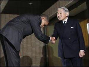 di Jepang semakin dalam kita membungkuk dan semakin lama maka kita