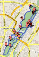 Map of 26/01/07 Run