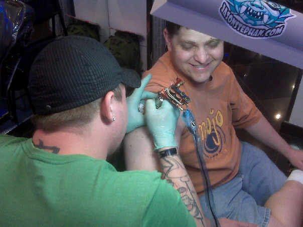 travel tattoo. My Travel Tattoo