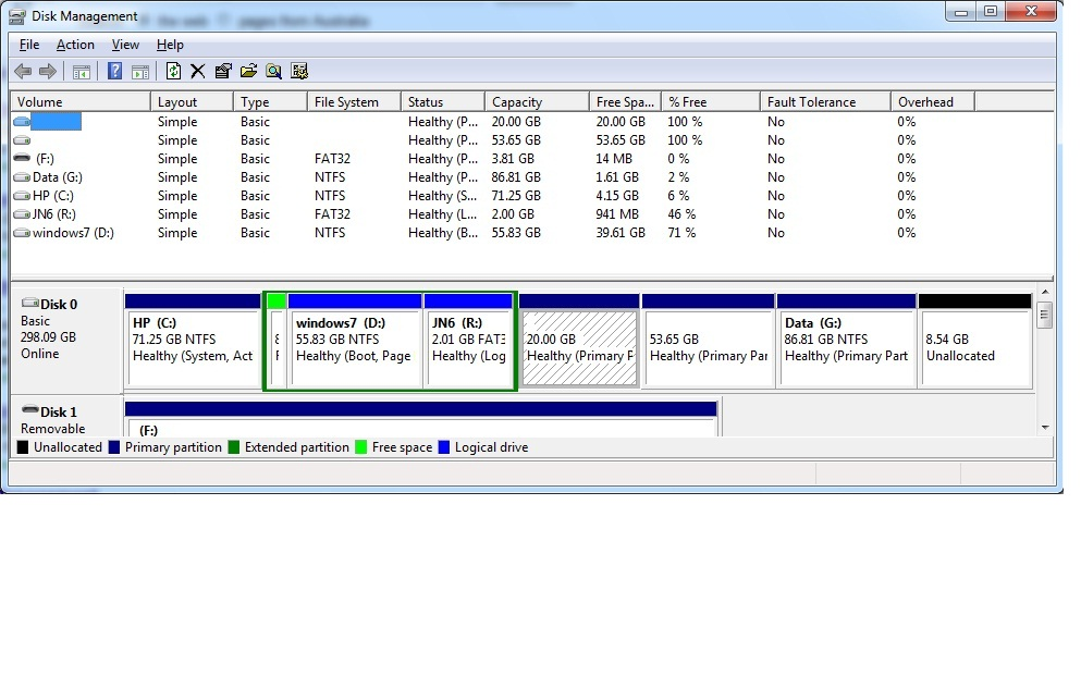 secondary disk scheduling management windows 7 Boot the computer using either the windows 7 os disc or the system repair disc loaded, ie that disc created on the previous page if the windows 7 os disc is loaded, click repair your computer at the first screen.