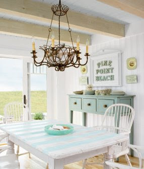 cottage aqua white ahhhh in the coastal