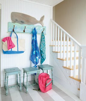 Beach Cottage Love: Aqua + White = Ahhhh in the Coastal Living Idea ...