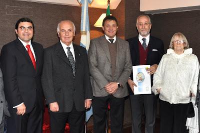 Ivan Ludueña Chinellato, Giuseppe Angeli, Leonardo Raimundo, Rosario Micciche, Mirella Giai. Foto Prensa SL Junio 2010