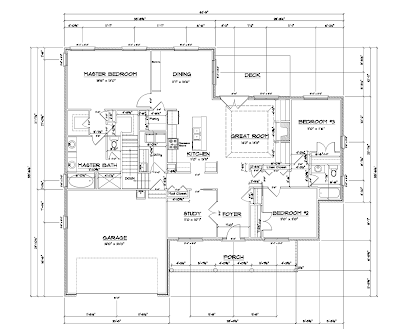 , something I've had an interest in for years - drawing house plans