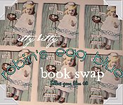 "itty bitty robin""s egg blue book Swap 2008"