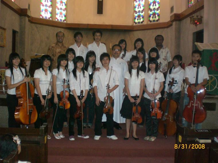 Pelayanan di Katedral Surabaya bersama PSAK