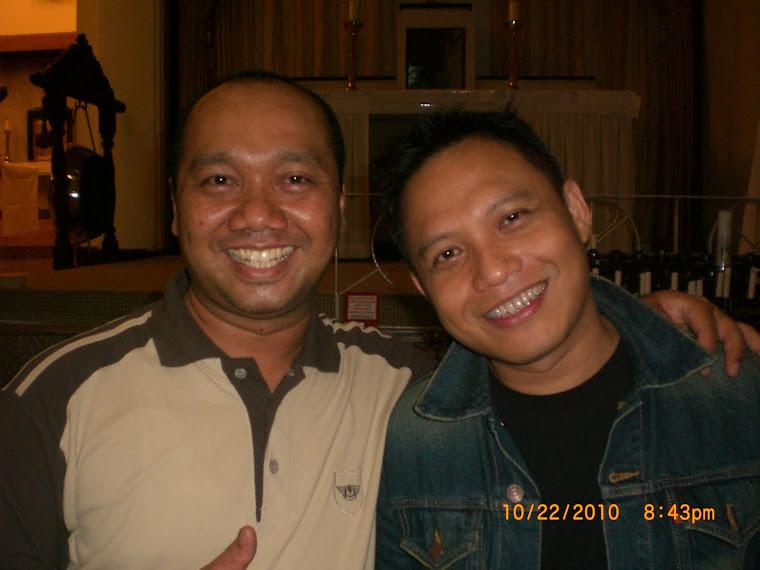 Yulius Kristanto Bersama Sarwana (WARNA) di Katedral Surabaya