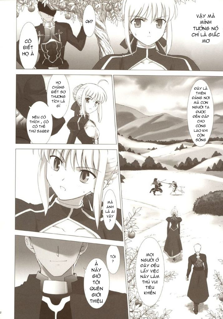 Fate/Stay Night - Happy Ending: Chapter 1