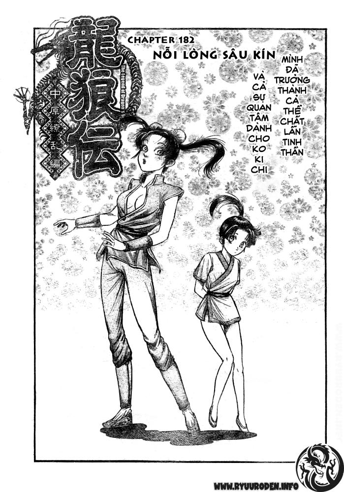 Chú bé rồng-Ryuuroden chap 182 Trang 1 - Mangak.info