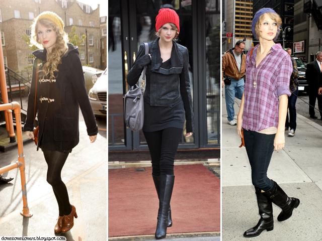 Estilo, Taylor Swift, Estilo Taylor Swift, Taylor Swift gorro, Taylor Swift beanie, Taylor Swift botas, Taylor Swift Inverno,