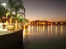 Lake Chapala in the evening