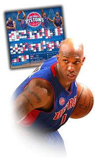 Brinde Grátis Ímã do Detroit Pistons