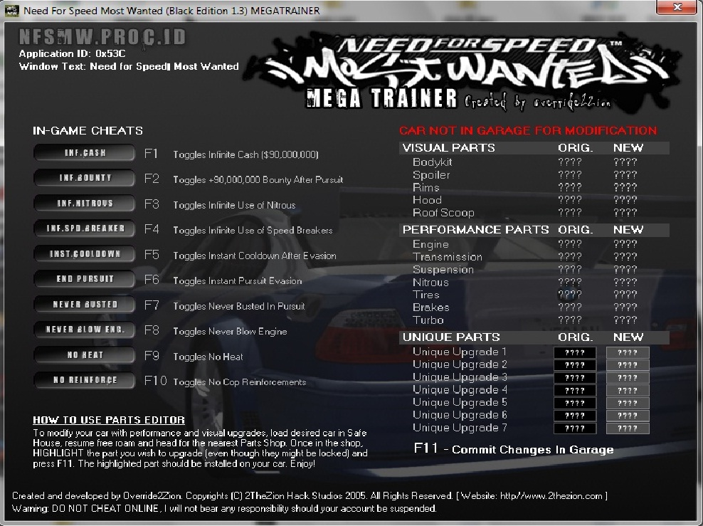 Need for Speed MW Cheats http://coba2-cyber-copz.blogspot.com/2010/11/cheat-need-for-speed-most-wanted-v13.html
