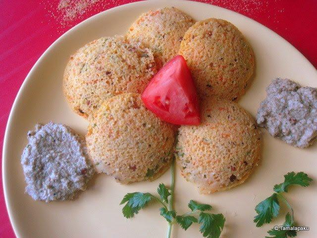 Cornmeal Idli