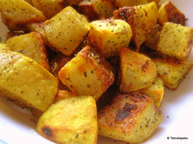 Minty Potato Fry