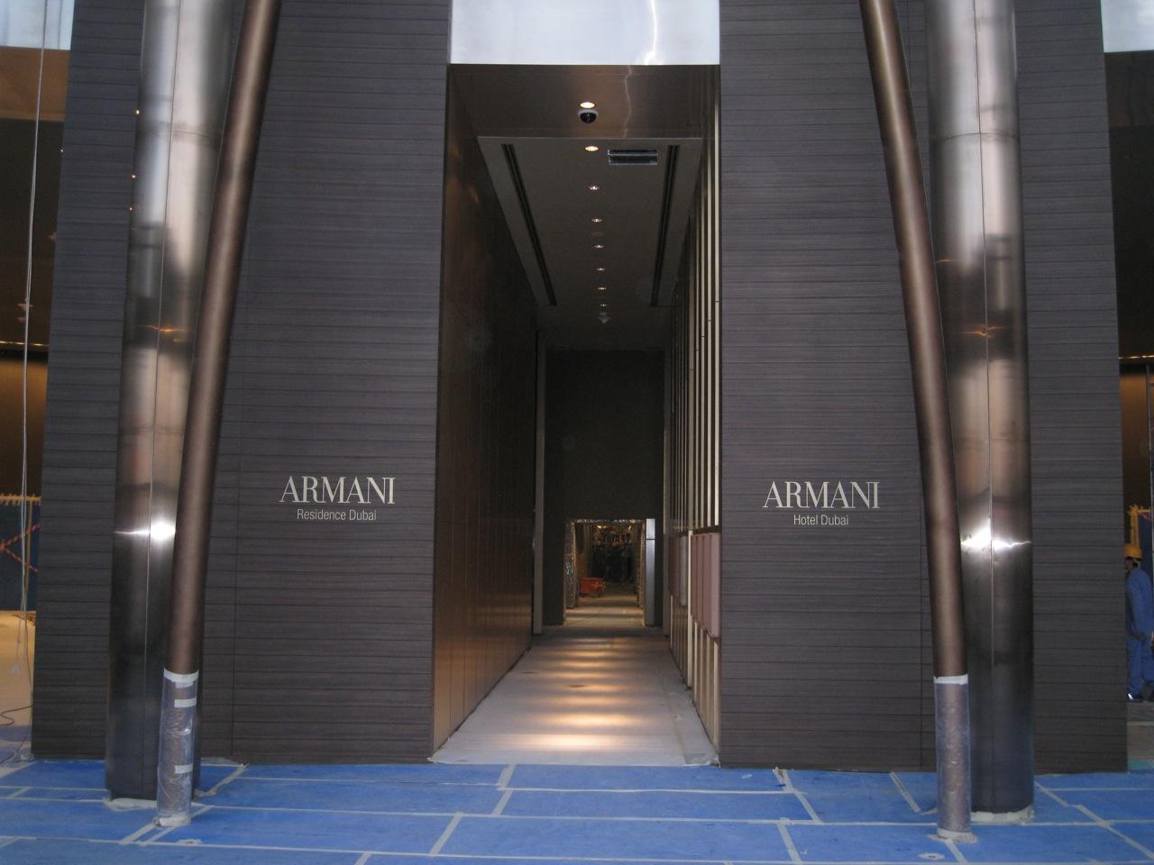 Hoteloscopy armani hotel dubai for Armani hotel dubai