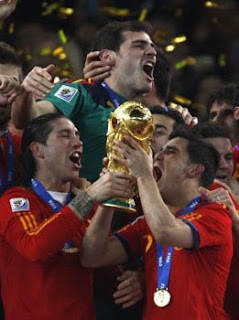 Spain wins world cup 2010