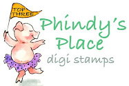 YAYH I won the first challenge over at Pindy's Place PCP.
